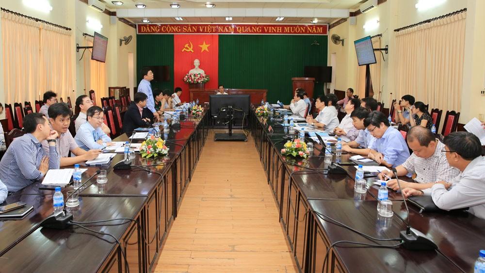 Buổi làm việc giữa BSR với Ban Thường vụ Tỉnh ủy Quảng Ngãi