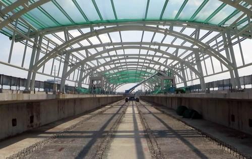 Hai nhà ga metro đầu tiên của TP HCM sắp hoàn thành - ảnh 1