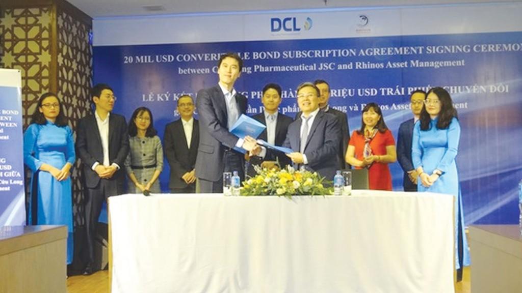 Dược phẩm Cửu Long và Rhinos Asset Management ký kết hợp tác mua bán trái phiếu
