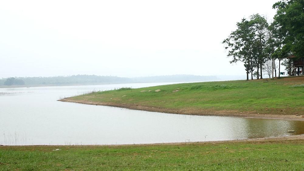 Gói thầu Thi công xây dựng hồ Suối Hai (huyện Tân Lạc, Hòa Bình) vẫn chưa công khai giá trúng thầu. Ảnh minh họa: Quang Tuấn
