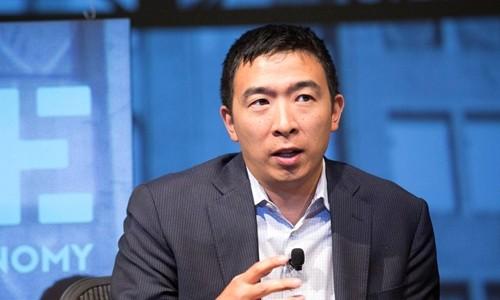 Andrew Yang muốn tranh cử Tổng thống Mỹ năm 2020. Ảnh:Andrew Yang