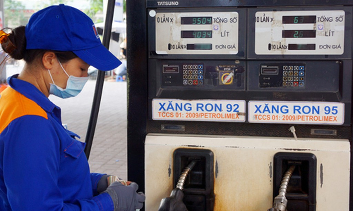 Giá xăng giữ nguyên tại kỳ điều hành chiều 23/4.