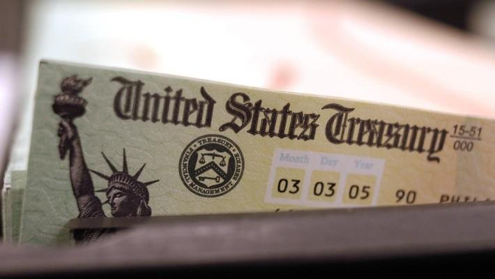 Một tờ trái phiếu kho bạc Mỹ.