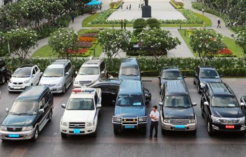 TP HCM là địa phương đầu tiên thí điểm cho thuê xe công theo hướng dẫn của Bộ Tài chính. Ảnh:Trung Sơn.