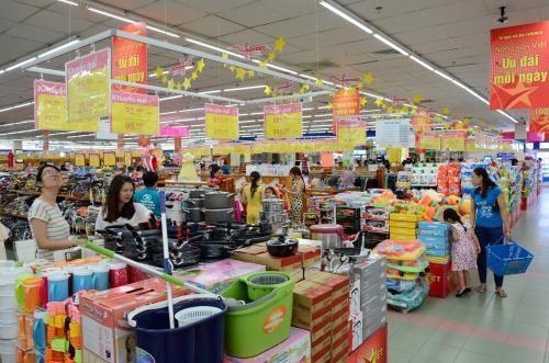 Chỉ số giá tiêu dùng Tp. Hồ Chí Minh tháng 4 tăng 0,12%. Ảnh minh họa: TTXVN