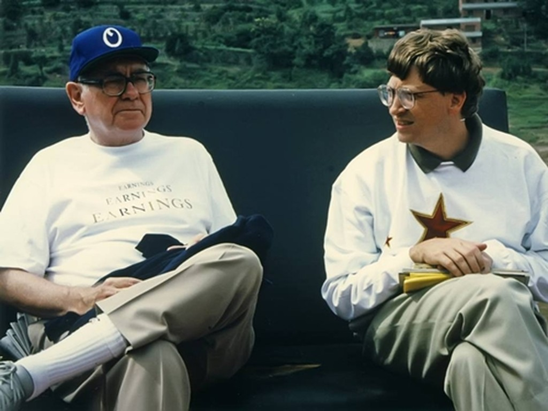 Warren Buffett và Bill Gates đã là bạn bè gần 30 năm qua. Ảnh:Gates Notes
