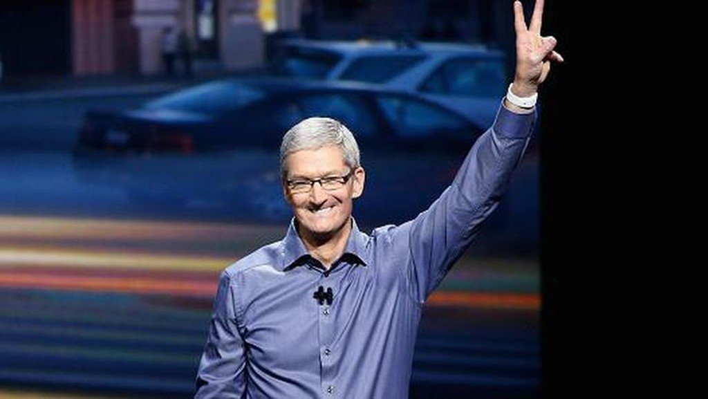 CEO Tim Cook của Apple - Ảnh: Getty/CNBC.