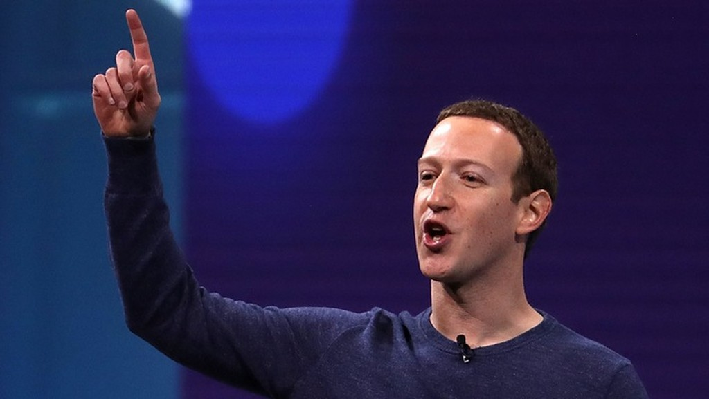 CEO Facebook - Mark Zuckerberg - Ảnh: Getty Images.