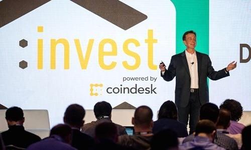 Một hội thảo về tiền ảo do CoinDesk tổ chức. Ảnh:AFP