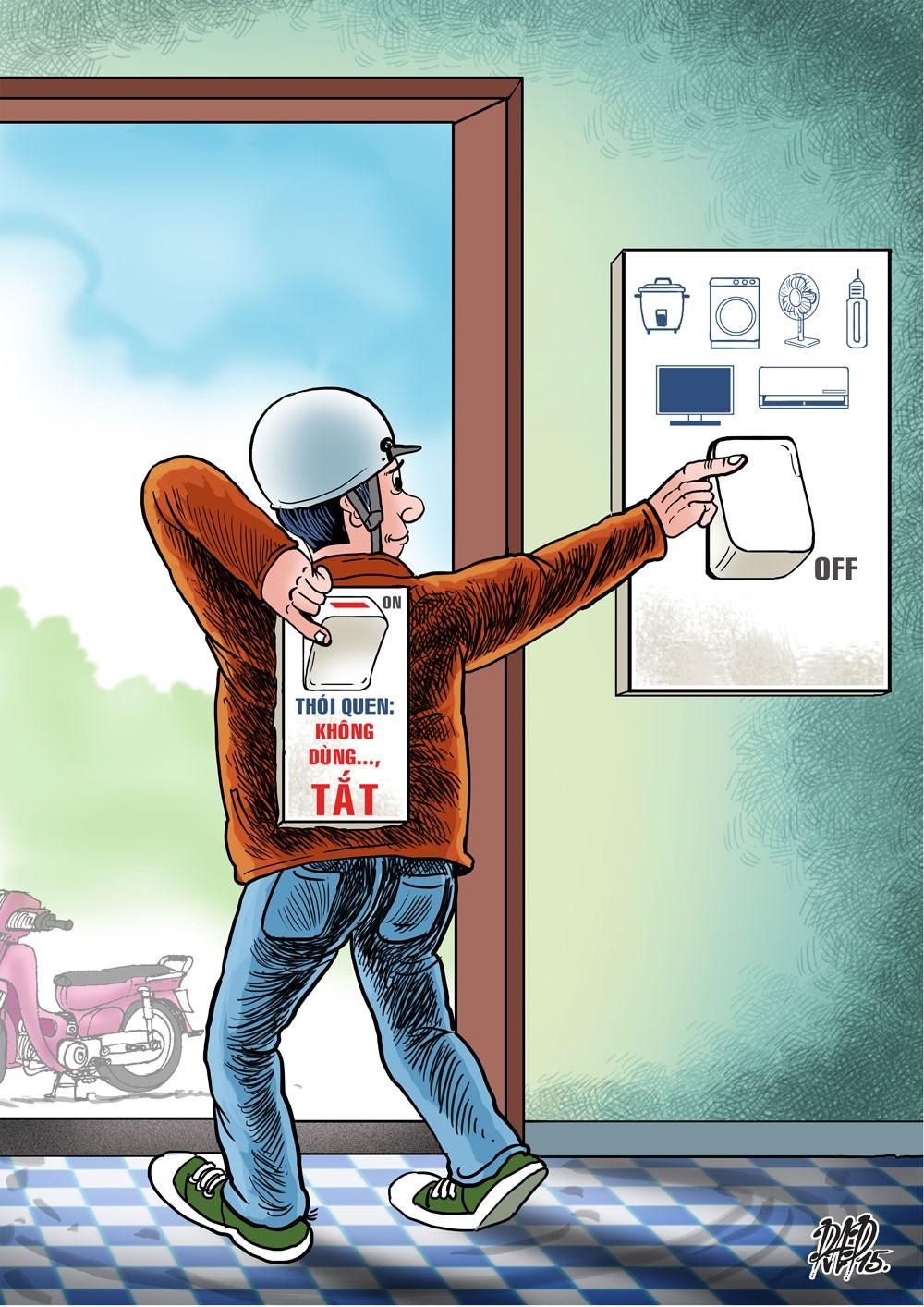 Nắng nóng diện rộng, EVN khuyến cáo triệt để tiết kiệm điện - ảnh 1