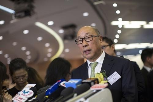 Chủ tịch kiêm CEO WH Group - Wan Long. Ảnh:Bloomberg