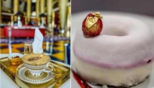 Nỗi ám ảnh vàng trong nhà hàng Dubai - ảnh 1