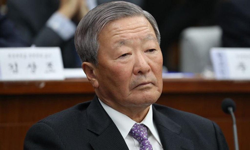 Ông Koo Bon-moo làm Chủ tịch LG hơn 20 năm. Ảnh:Bloomberg.