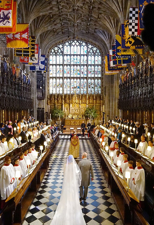 Những khoảnh khắc ấn tượng trong lễ cưới Hoàng tử Anh - ảnh 12