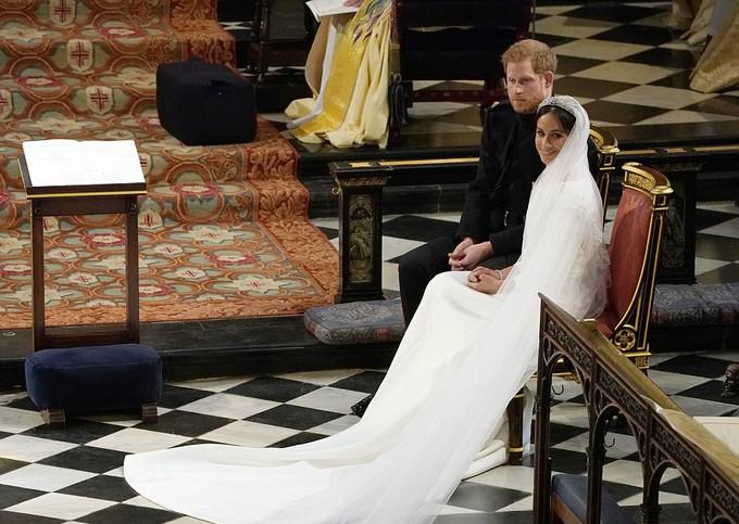 Những khoảnh khắc ấn tượng trong lễ cưới Hoàng tử Anh - ảnh 15