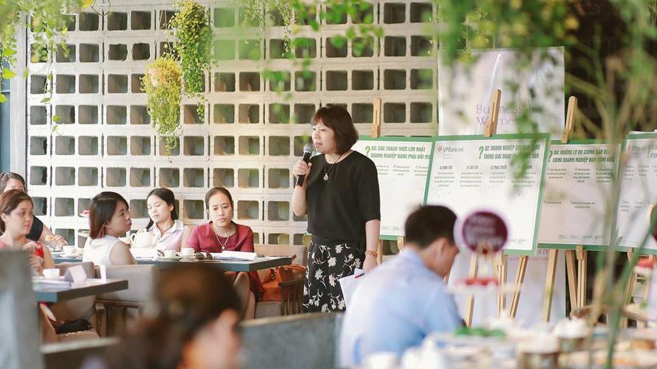 VPBank từng tổ chức nhiều tọa đàm lớn nhỏ nhằm tìm hiểu nhu cầu và mong muốn của nữ CEO