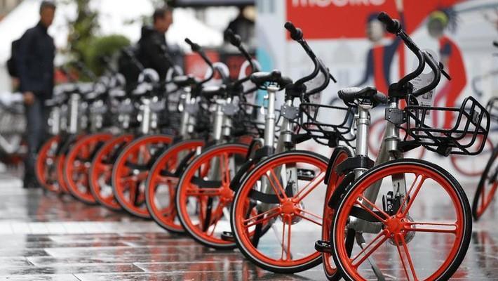 Ngoài nạn trộm xe, Mobike còn đối mặt với sự cạnh tranh khá gay gắt ở Mexico City - Ảnh: Tân Hoa Xã.