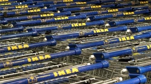 Đại gia bán lẻ Thụy Điển - Ikea đang tích cực sử dụng nguyên nhiên liệu tái tạo. Ảnh:BBC
