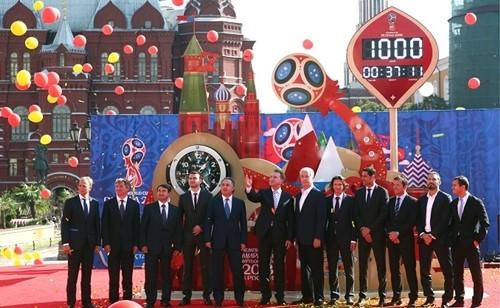 Hàng loạt công ty Trung Quốc trở thành nhà tài trợ cho World Cup lần này. Ảnh:Russian Business Today