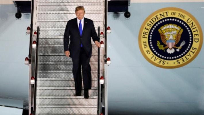 Những hình ảnh đầu tiên của ông Trump và ông Kim Jong Un ở Singapore - ảnh 3