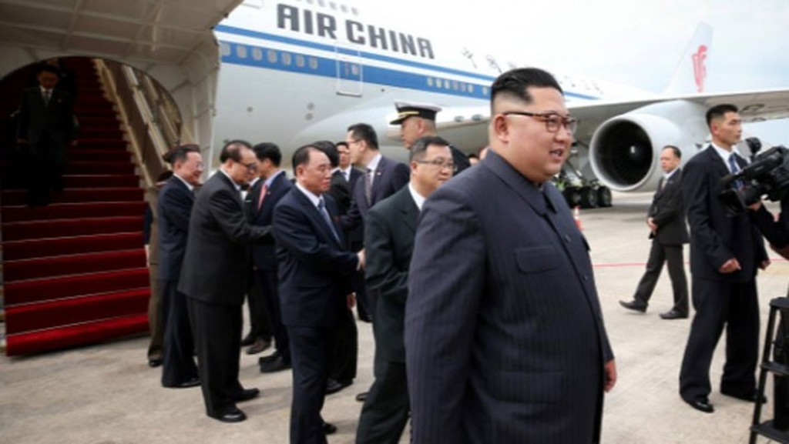 Những hình ảnh đầu tiên của ông Trump và ông Kim Jong Un ở Singapore - ảnh 8