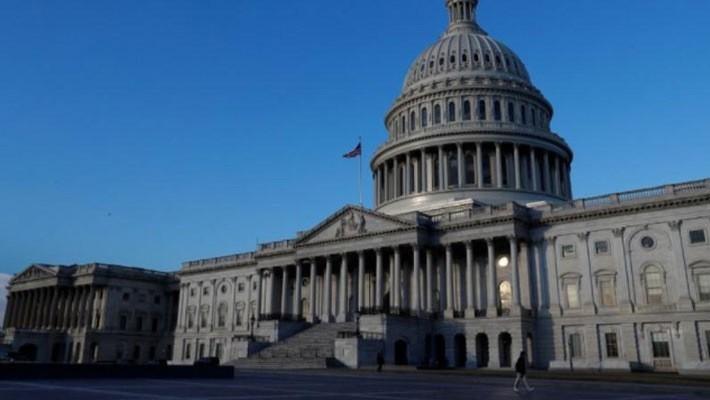 Tòa nhà Quốc hội Mỹ trên Đồi Capitol ở thủ đô Washington DC - Ảnh: Reuters.