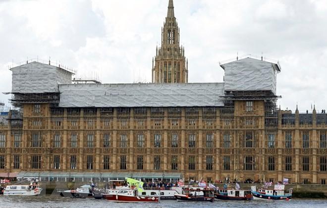 Quang cảnh tòa nhà Quốc hội Anh ở London ngày 12/6. (Nguồn: AFP/TTXVN)