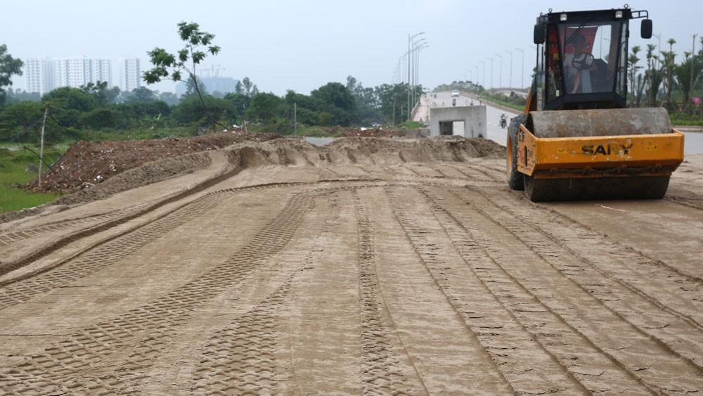Các dự án được kỳ vọng sẽ tạo sự kết nối đồng bộ các tuyến đường nội thị, giảm ùn tắc giao thông cho khu vực nội đô của TP. Hà Nội. Ảnh: Nhã Chi