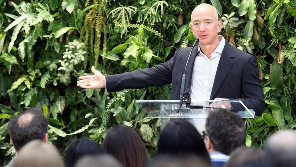 Jeff Bezos - Ảnh: Business Journals.