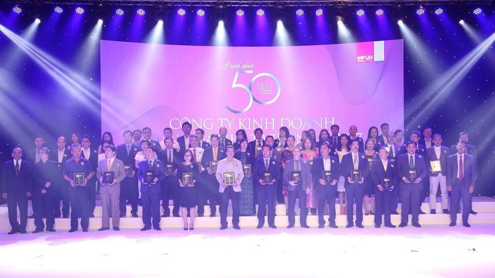 Top 50 công ty kinh doanh hiệu quả