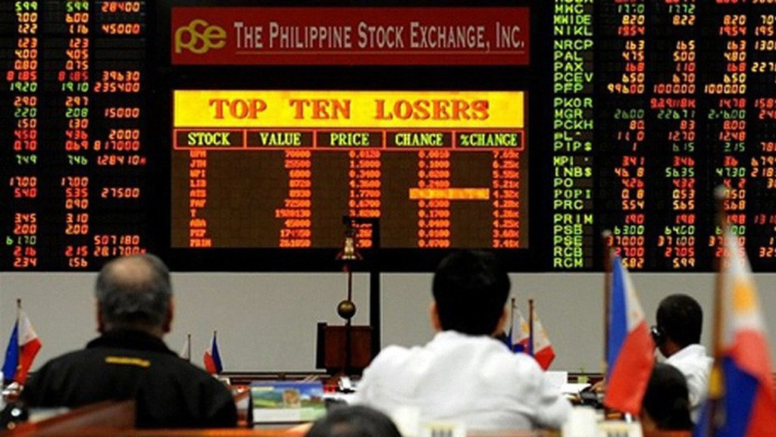 Từ mức kỷ lục hôm 29/1 đến nay, Philippine Stock Exchange Index đã giảm 22%.