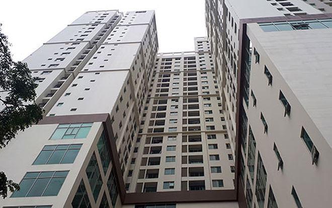 Khu tổ hợp chung cư, văn phòng cho thuê ở 493 Trương Định. Ảnh: Phương Sơn.