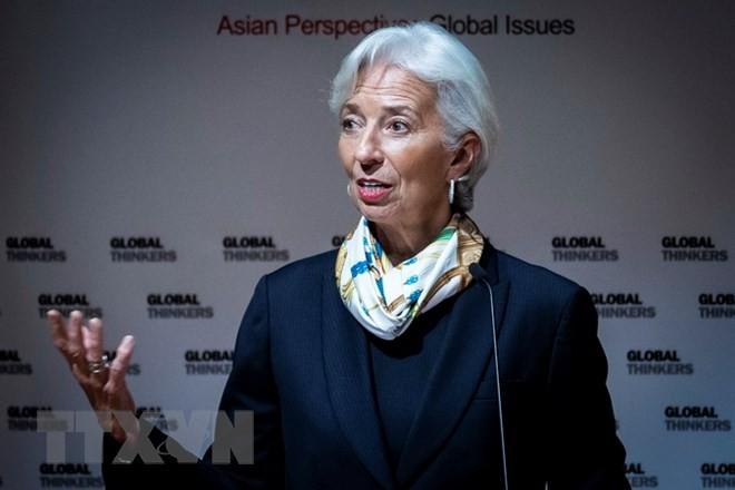 Tổng Giám đốc Quỹ Tiền tệ quốc tế (IMF) Christine Lagarde. (Nguồn: AFP/TTXVN)