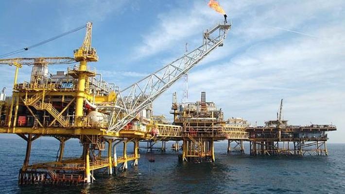Một mỏ dầu ở ngoài khơi phía Nam Iran.