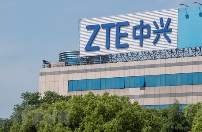 Trụ sở ZTE ở Thượng Hải, Trung Quốc. (Nguồn: AFP/TTXVN)