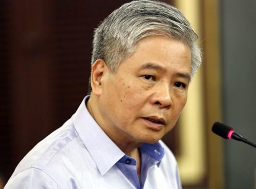 Ông Đặng Thanh Bình tại tòa hôm nay. Ảnh:Thành Nguyễn.