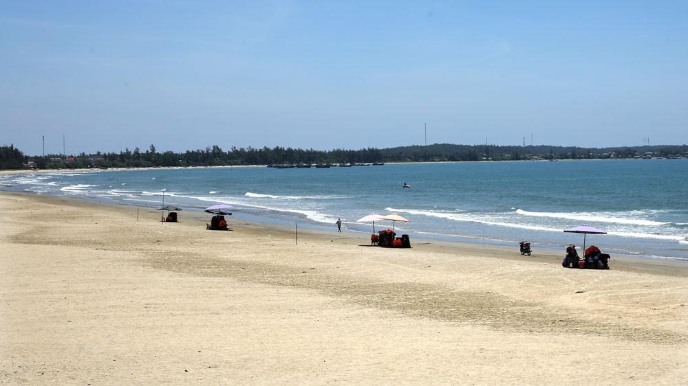 Khu Du lịch biển Mỹ Khê được đánh giá là dự án giàu tiềm năng nhờ vị trí đắc địa. Ảnh: Lê Tiên