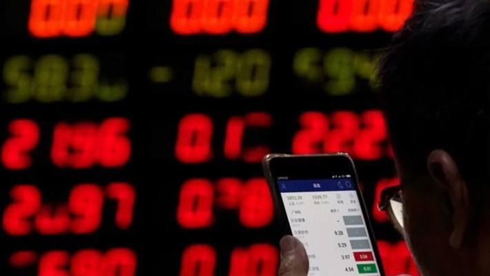 Bản báo cáo cảnh báo rằng mức độ mua cổ phiếu bằng vay nợ trên thị trường chứng khoán Trung Quốc đã đạt mức cao như hồi năm 2015 - Ảnh: SCMP.