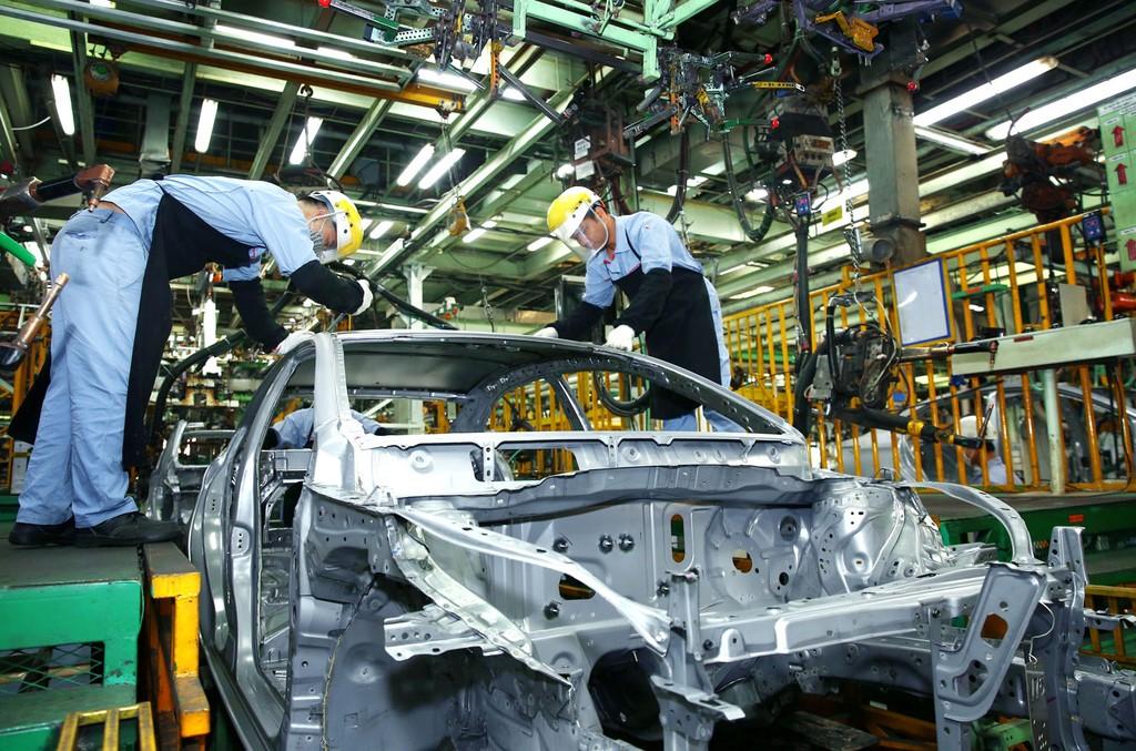 6 tháng đầu năm, công nghiệp chế biến, chế tạo tăng trưởng 13,02%, mức tăng cao nhất trong 7 năm trở lại đây. Ảnh: Lê Tiên