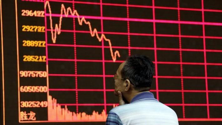Chứng khoán Trung Quốc đang chịu sức ép giảm điểm mạnh từ xung đột thương mại và khả năng tăng trưởng kinh tế giảm tốc.