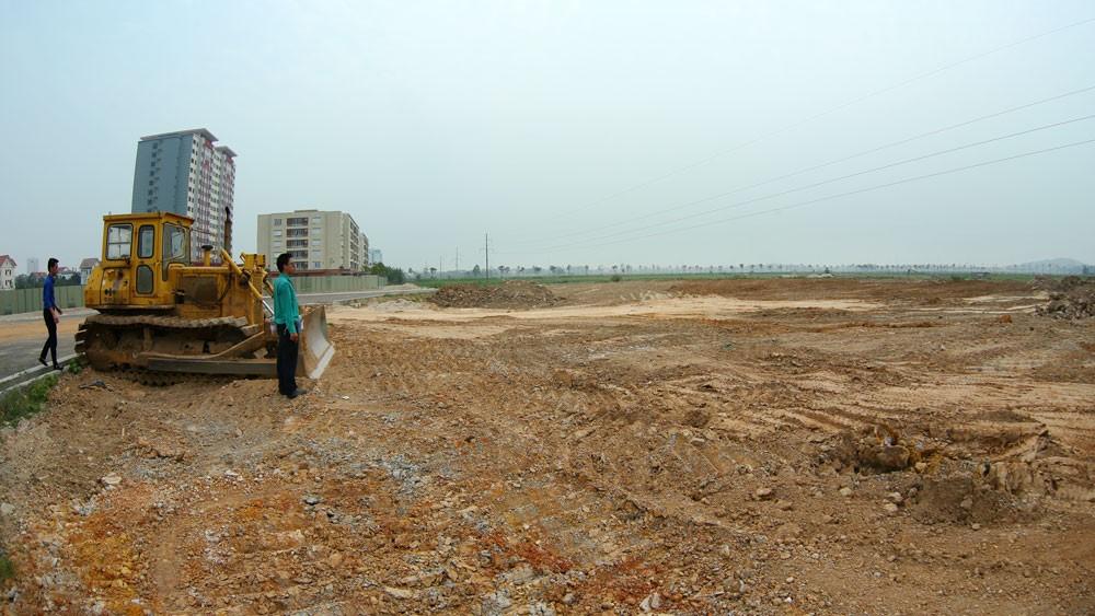 """Hơn 2 năm qua, với cùng mô típ là nhà đầu tư đề xuất và sau đó được chỉ định thầu, Công ty CP Thủy sản khu vực 1 đã """"ẵm"""" nhiều dự án BT tại Bắc Ninh. Ảnh: Lê Gia Khoa"""