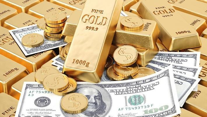 Giá vàng đang chịu áp lực giảm từ đồng USD mạnh.