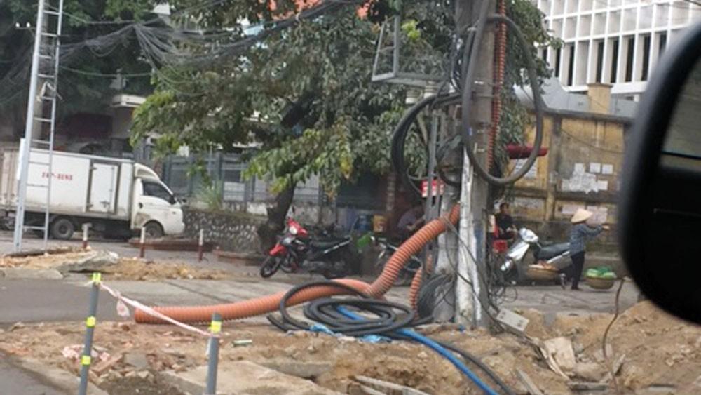 Qua gần 7 tháng từ khi mở thầu, 2 gói thầu bị tố thi công trước đấu thầu tại TP. Hạ Long (Quảng Ninh) chưa được công khai kết quả