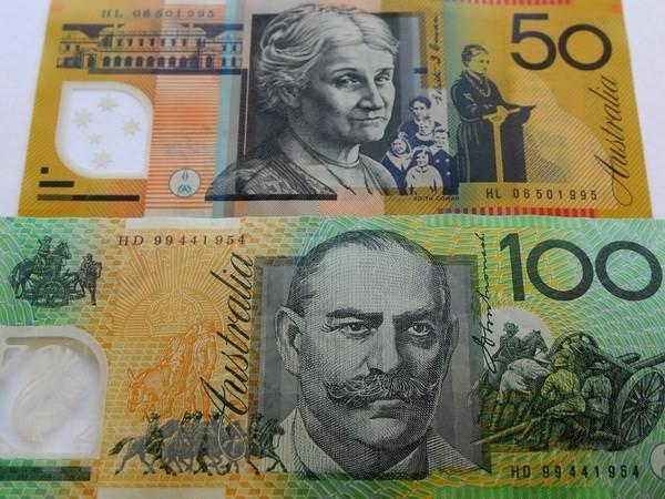 Đồng đôla Australia. (Nguồn: AFP/ TTXVN )