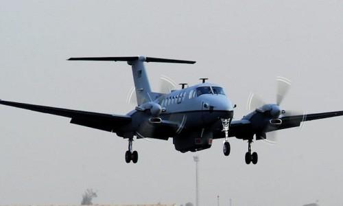 Một máy bay trinh sát MC-12W Libertycủa không quân Mỹ. Ảnh:Task and Purpose.