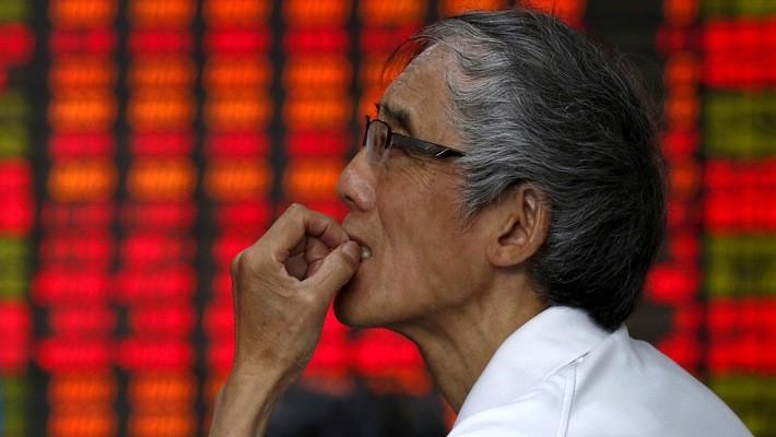 Tháng trước, thị trường chứng khoán Trung Quốc đã rơi vào trạng thái thị trường đầu cơ giá xuống (bear market).