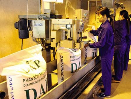 Trong số 6 nhà máy trước đây thua lỗ, đã có 2 nhà máy có lãi là Nhà máy Sản xuất phân bón DAP số 1 - Hải Phòng và Nhà máy Thép Việt Trung. Ảnh: NC st