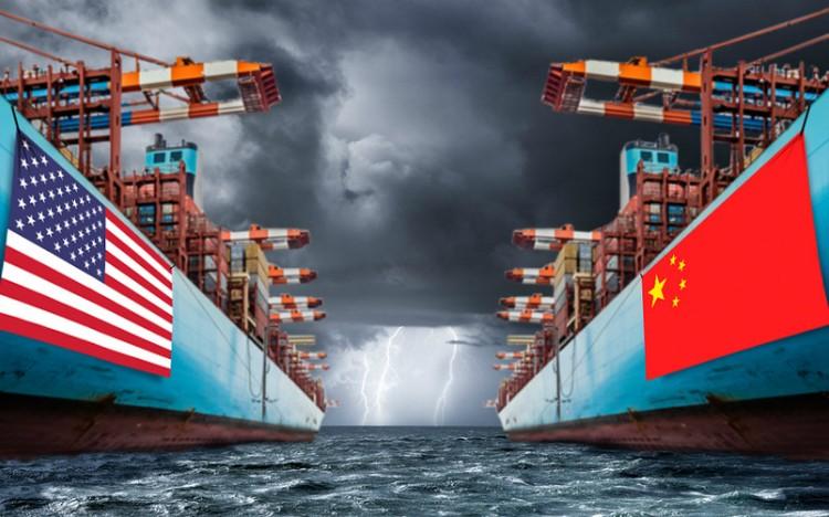 Chiến tranh thương mại Mỹ Trung gây thiệt hại cho cả chuỗi cung ứng toàn cầu. Ảnh: MarketWatch