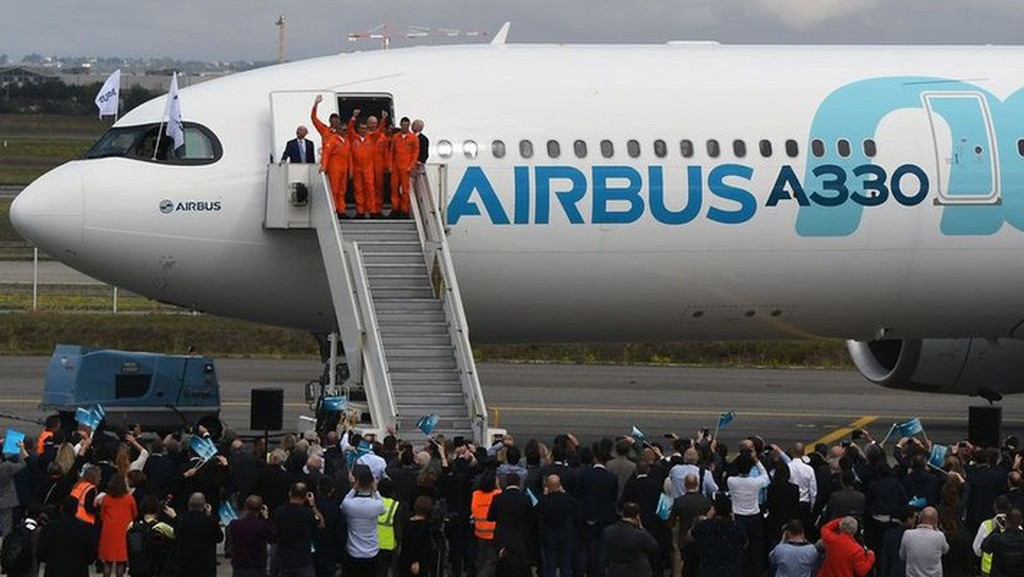 Máy bay Airbus A330 neo - Ảnh: AFP/Getty Images.