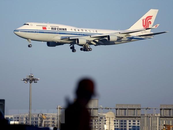 Máy bay của Hãng hàng không Air China. (Nguồn: AFP/TTXVN)